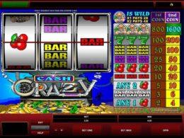 Cash Crazy free pokies