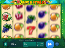 Juice and Fruits slot