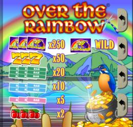 Over The Rainbow free pokies