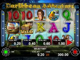 Caribbean Adventure Free Australian Pokies