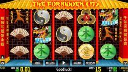The Forbidden City best free pokies