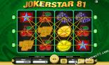 Joker Star 81 Free Aussie Pokies