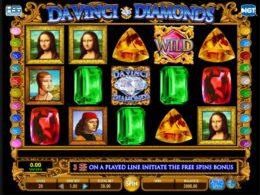 Da Vinci Diamonds Best Free Slots