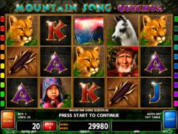 Mountain Song pokies for free