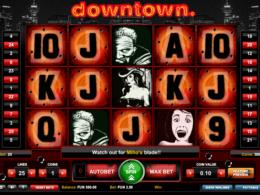Downtown slot
