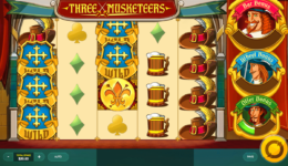 The Three Musketeers slots