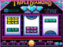 Triple Diamond Online Pokies Australia