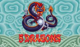5 Dragons Best Free Slot Machines